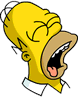 Tapped Out Homer Icon - PassedOut.png