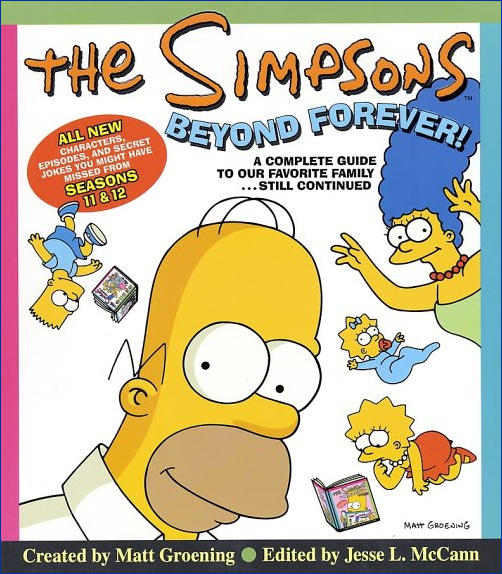 The Simpsons Beyond Forever! (Front Cover).png