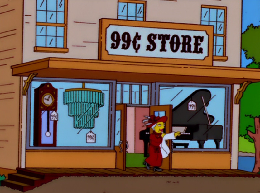 99¢ Store Simpsons Tall Tales.png