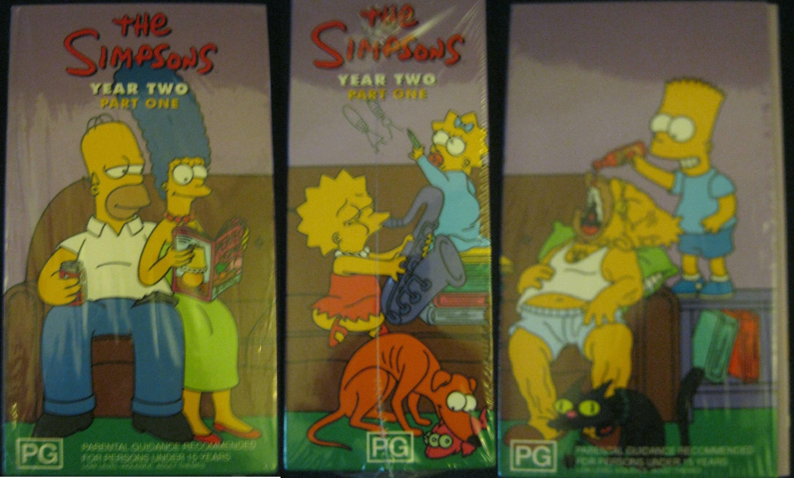 The Simpsons Year 2 Part 1 Box Australia.jpg