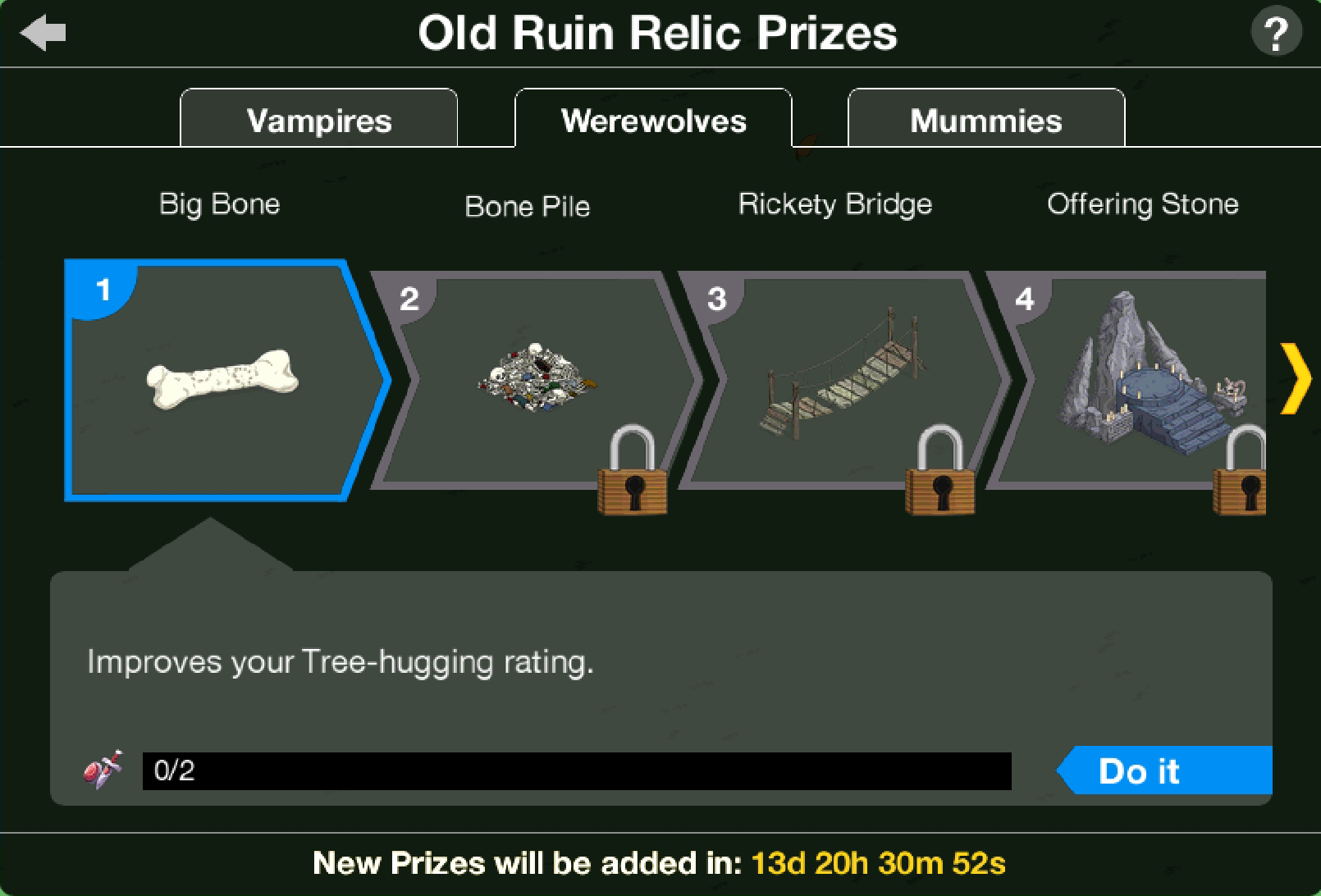 THOHXXIX Old Ruins Relic Act 2 Prizes.png