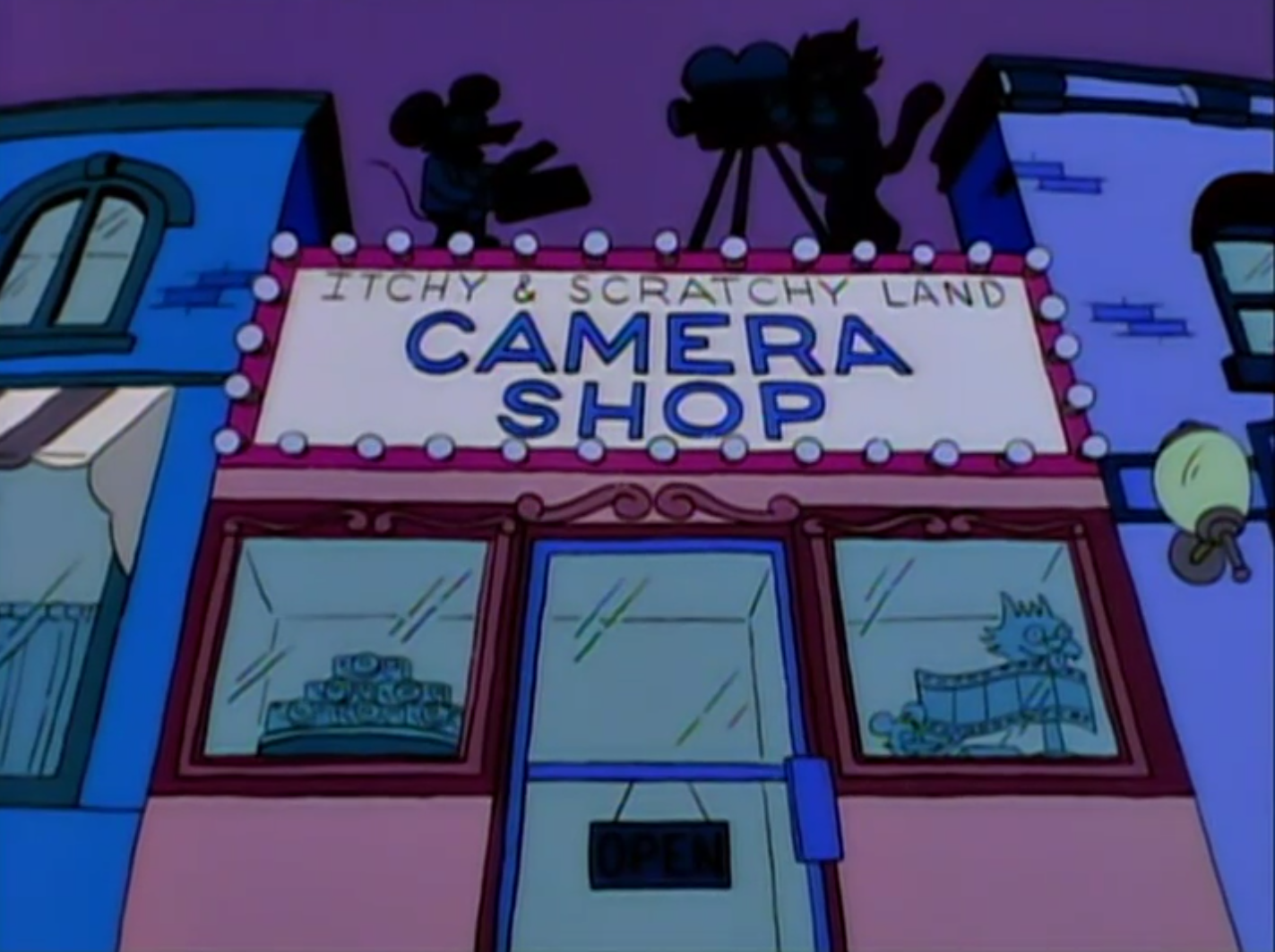 Itchy & Scratchy Land Camera Shop.png