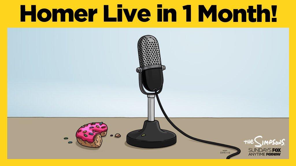 Simprovised Homer Live in 1 Month!.jpeg