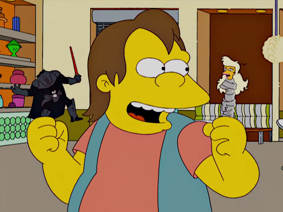Lisa the Drama Queen Star Wars.png