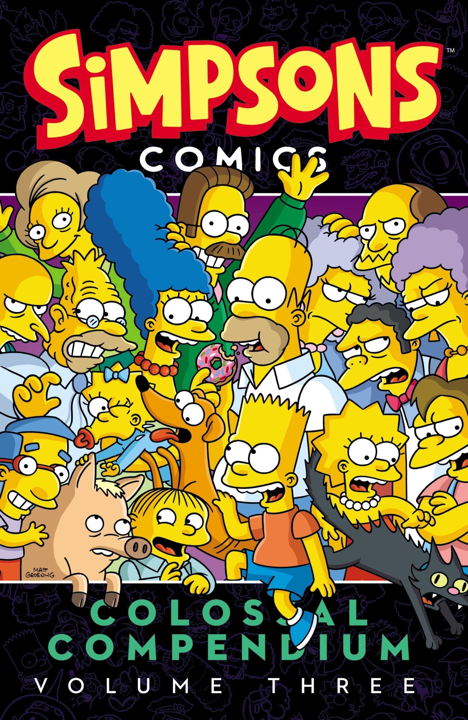 Simpsons Comics Colossal Compendium Volume Three.jpg