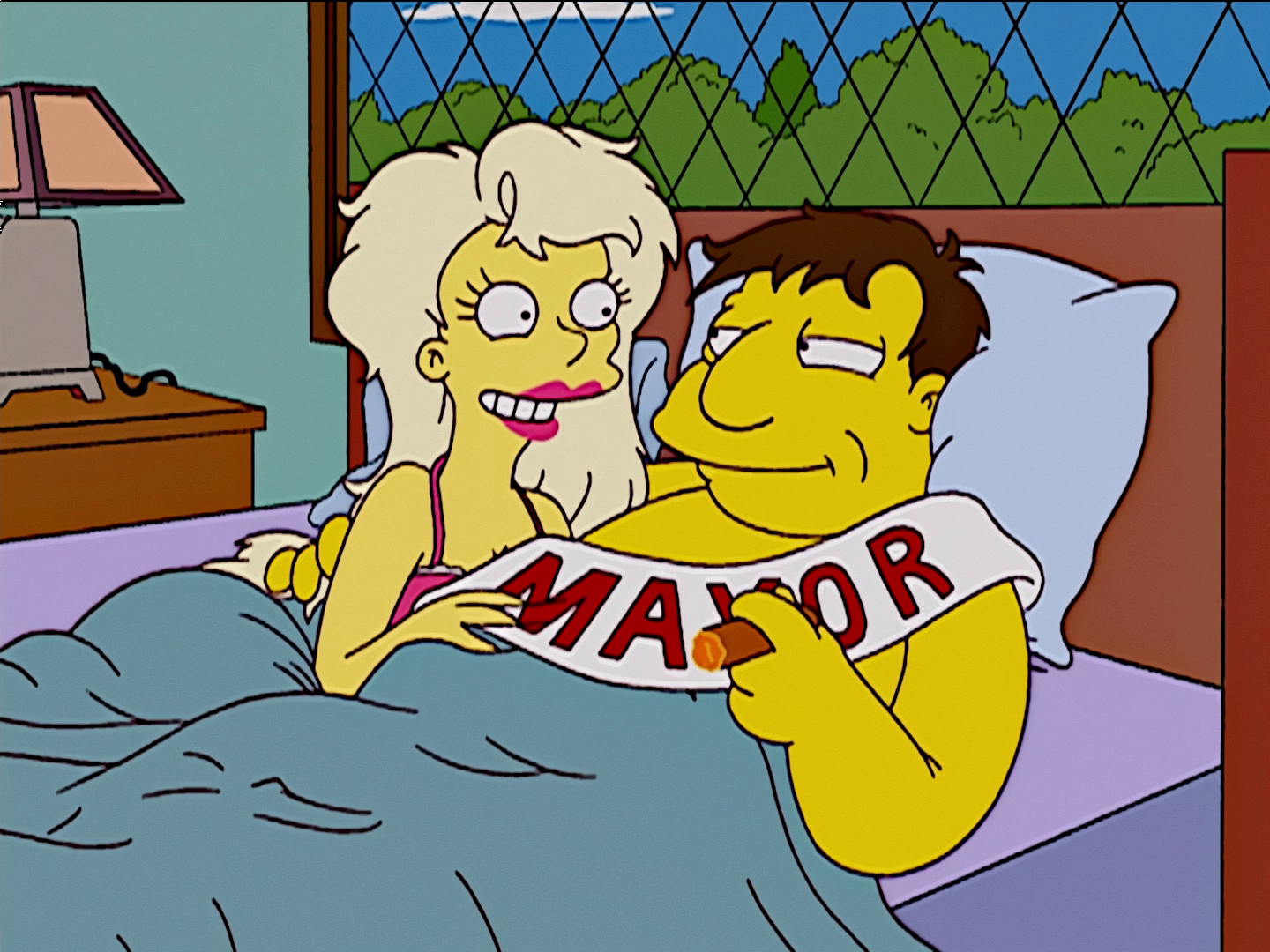Mr. Spritz Goes to Washington Miss Springfield and Joe Quimby 1.png
