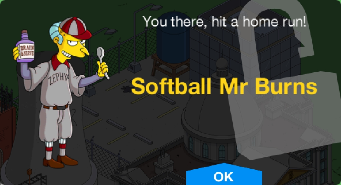 Softball Mr Burns Unlock.png