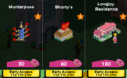 Tapped Out Level 50 Early Access.png