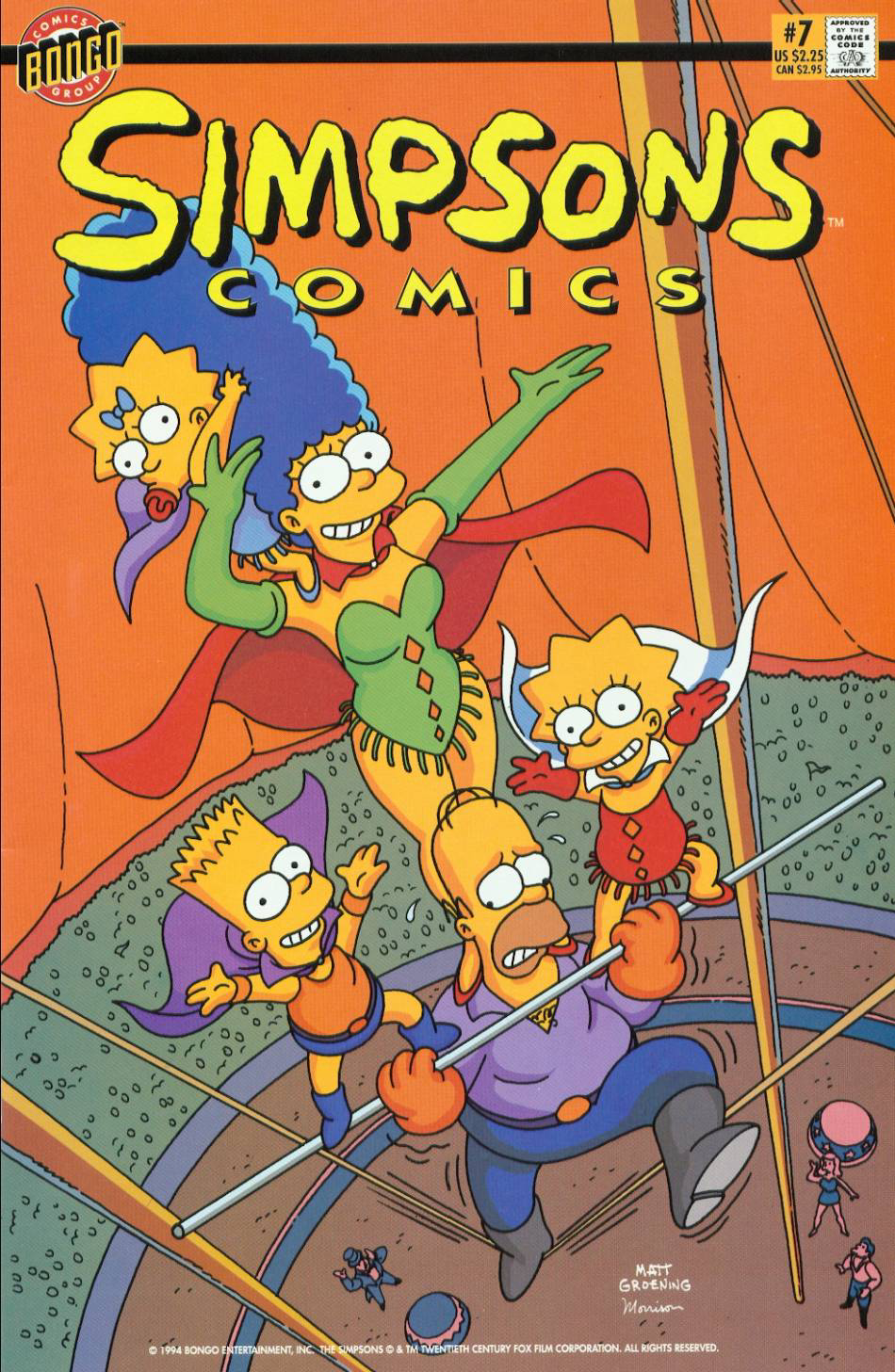 Simpsons Comics 7 (Front Cover).png