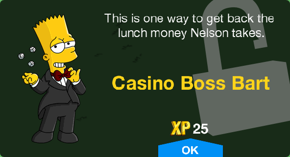 Tapped Out Casino Boss Bart Unlock.png