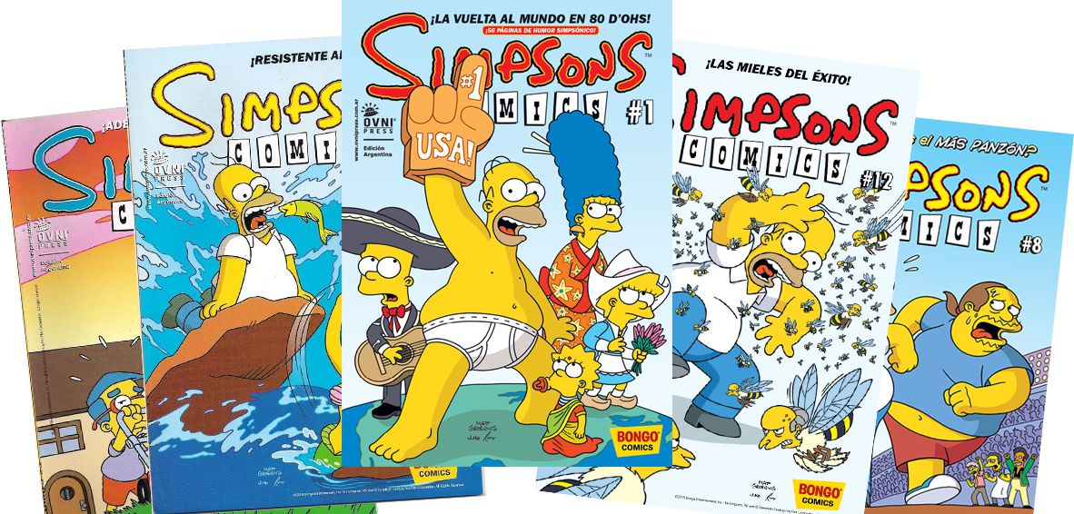 Simpsons Comics Aregentina 2 logo.png