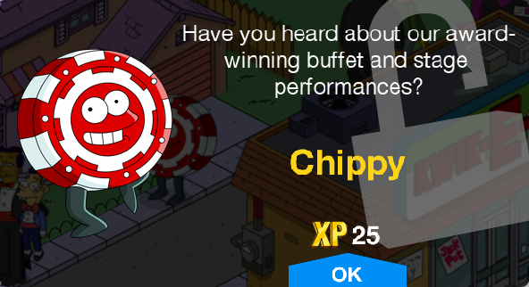Tapped Out Chippy Unlock.png