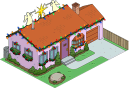 Tapped Out Van Houten House decorated.png
