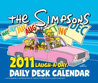 The Simpsons 2011 Laugh-a-Day Daily Desk Calendar.jpg