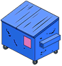 Tapped Out Dumpster Blue.png