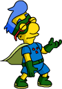 Tapped Out Sidekick Milhouse Celebrate.png