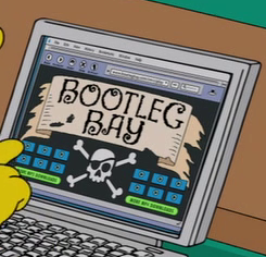 bootleg bay wikisimpsons the simpsons wiki