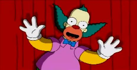 The Simpsons Game advert Krusty.jpg