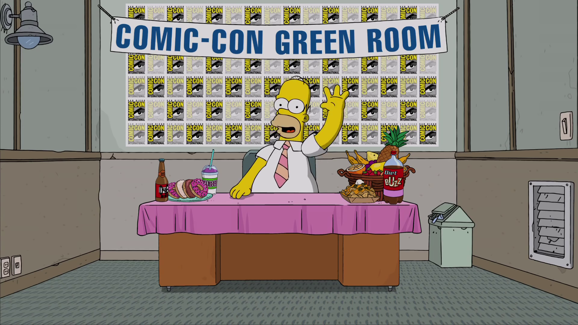 Homer From The Green Room At San Diego Comic-Con 2016.png