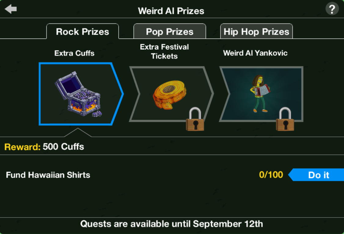 Weird Al Act 1 Prizes.png