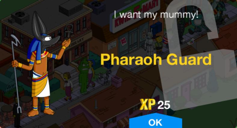 Pharaoh Guard Unlock.png