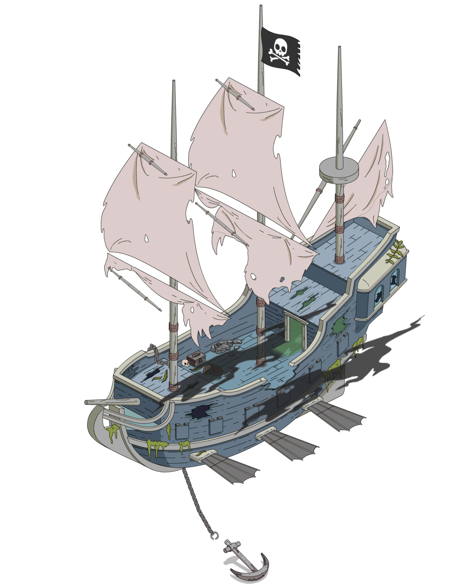 Tapped Out Ghost Pirate Airship.png