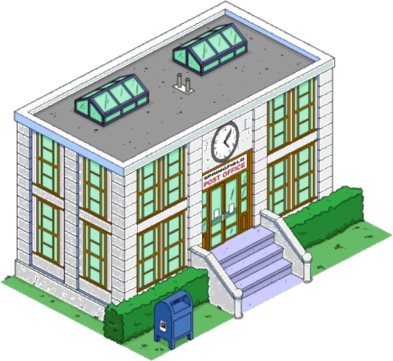 The Simpsons Tapped Out Government Buildings Wikisimpsons The