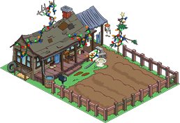 Tapped Out Christmas Cletus Farm melted.png