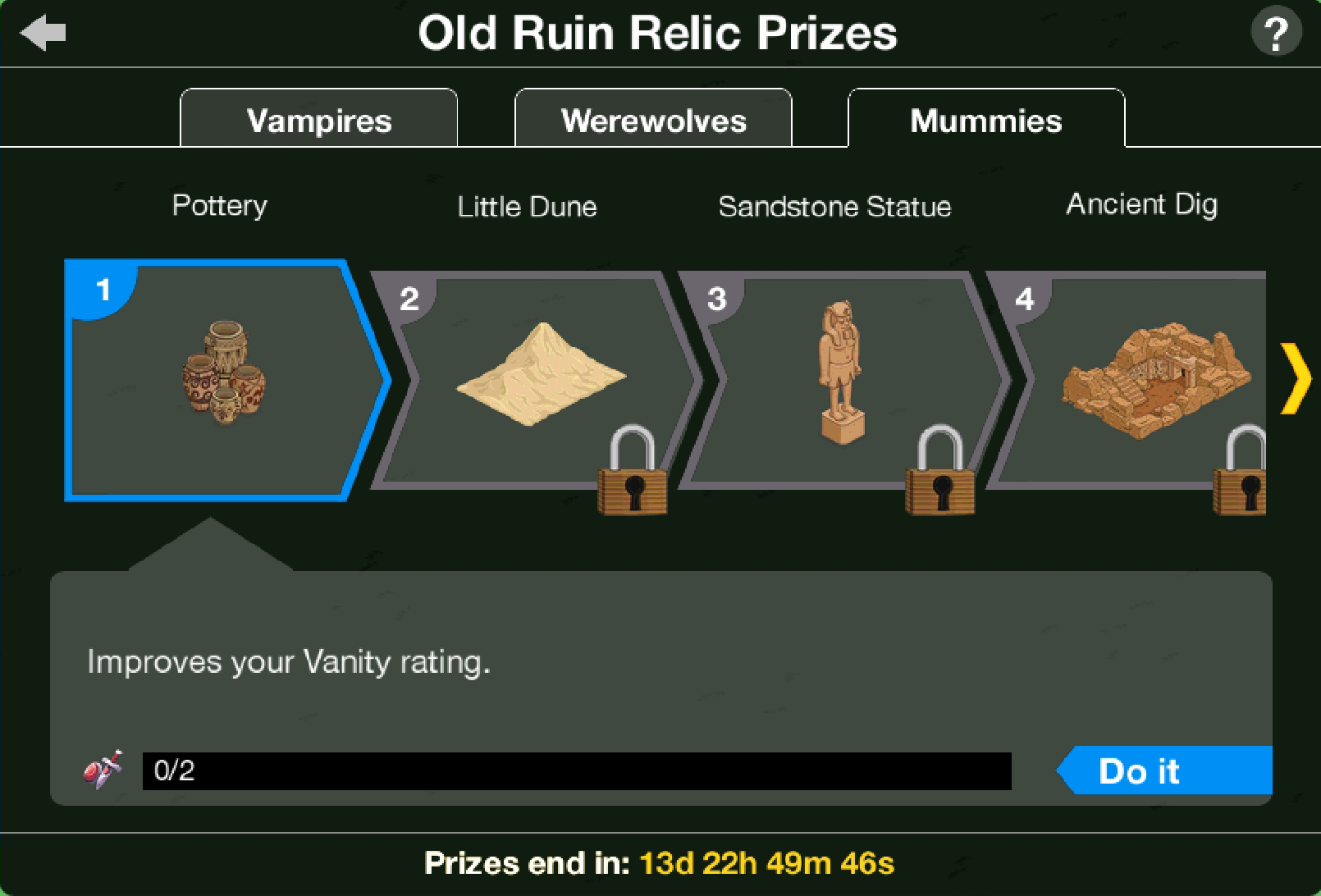 THOHXXIX Old Ruins Relic Act 3 Prizes.png