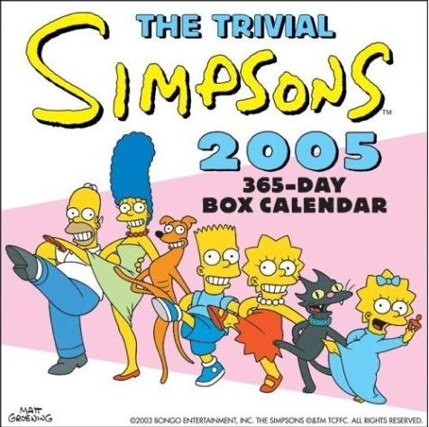 The Trivial Simpsons 2005 365-Day Box Calendar.jpg