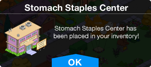 Tapped Out Stomach Staples Center notice.png