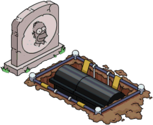 Tapped Out Homer's grave.png