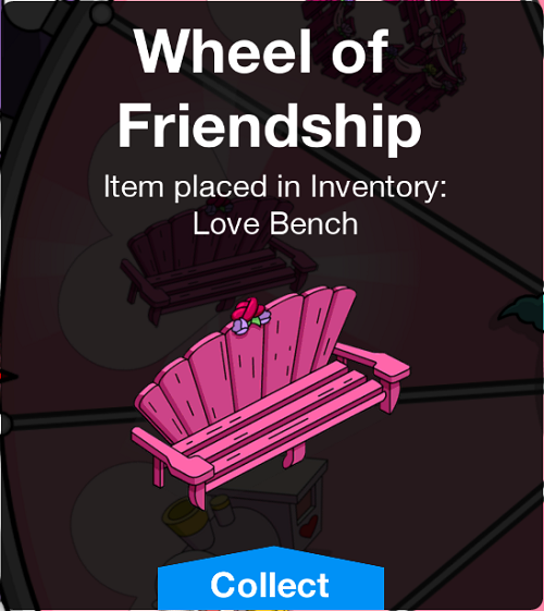 Tapped Out Lovely Bench Unlocked.png