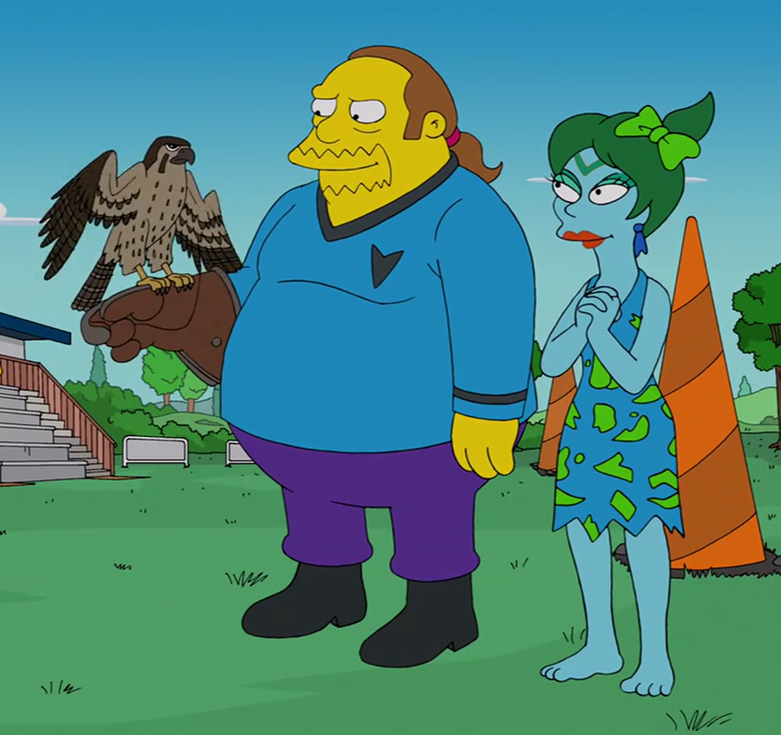 Comic Book Guy Star Trek outfit.png