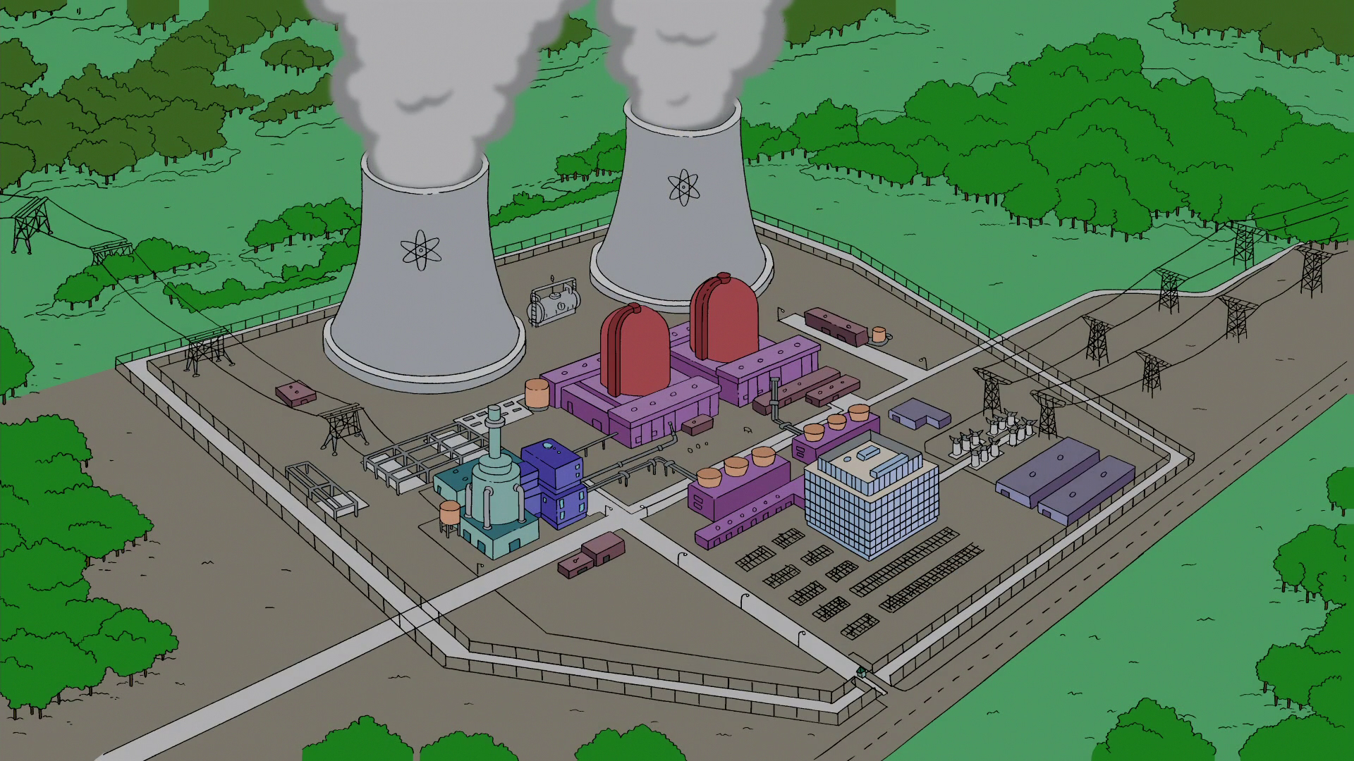 Springfield Nuclear Power Plant  Wikisimpsons  the