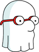 Tapped Out Ghost Luann Icon.png