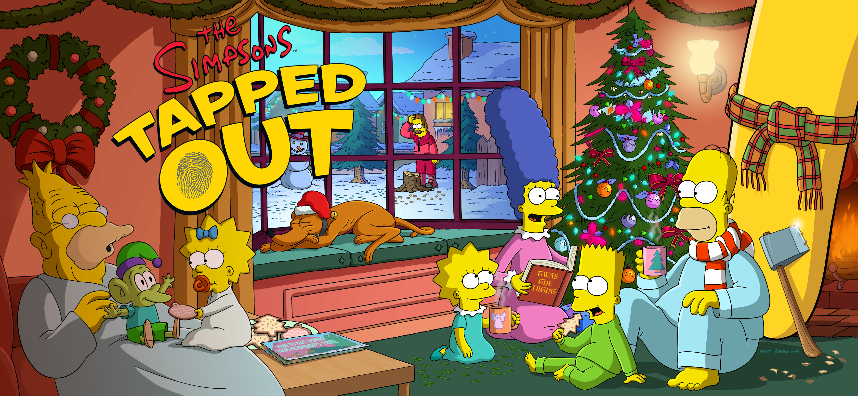 A Simpsons Christmas Special Splash Screen.png