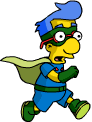 Tapped Out Sidekick Milhouse Make a Heroic Escape.png