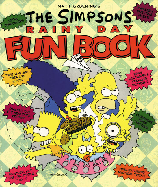 The Simpsons Rainy Day Fun Book Wikisimpsons The Simpsons Wiki