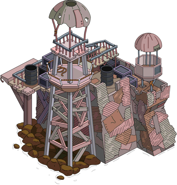 Tapped Out Aqua World Main Guard Tower.png