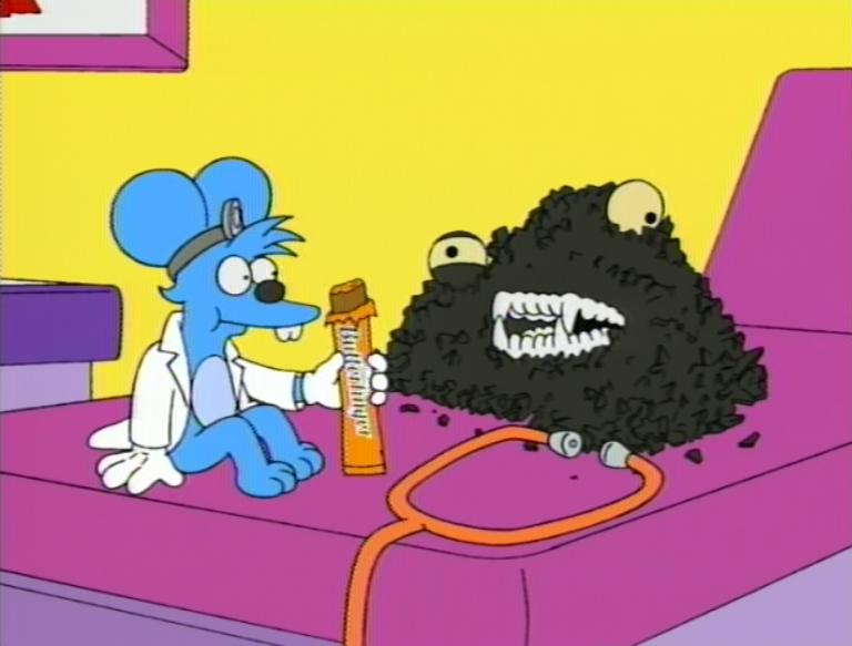 """BF Itchy & Scratchy's """"500 Easy Pieces"""".jpg"""