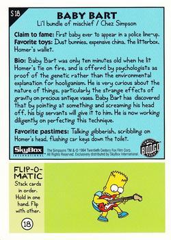 S18 Baby Bart (Skybox 1994) back.jpg