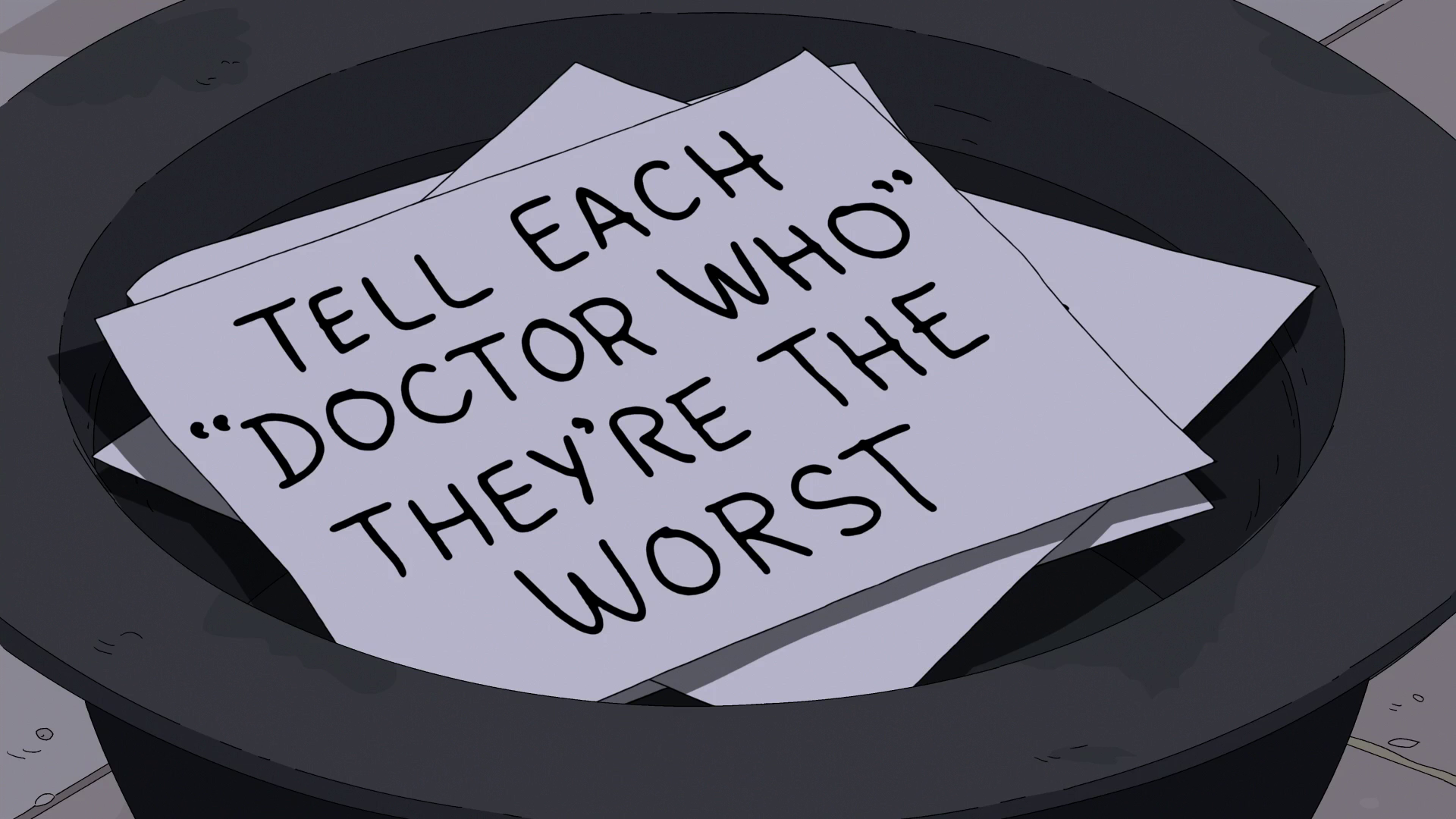 Tell Each Doctor Who They're the Worst.png