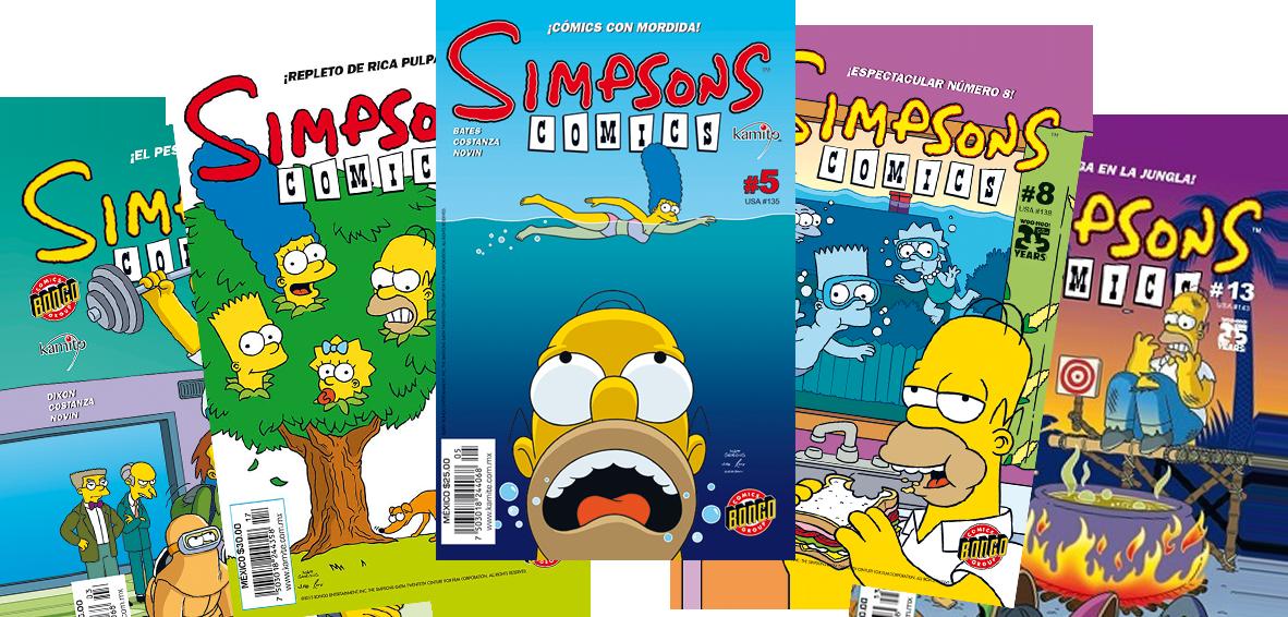 Simpsons Comics Mexico 2 logo.png