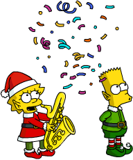 Tapped Out ElfLisa and ElfBart Spread Holiday Cheer.png
