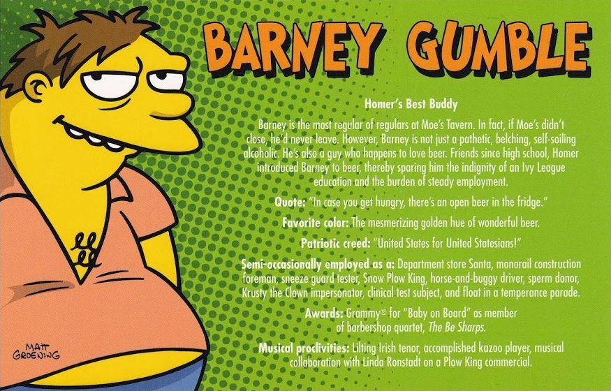 Postcard 2007-Barney Gumble.jpg