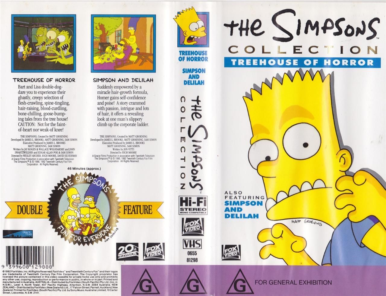The Simpsons Collection Treehouse of Horror (Australia).JPG