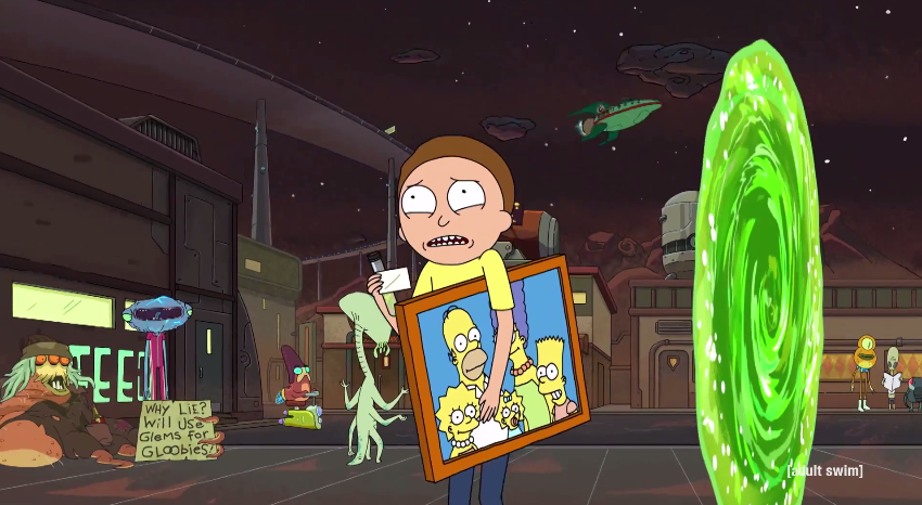 Rick and Morty Planet Express ship.png