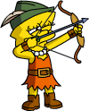 Tapped Out LisaArcher Shoot Arrows.png