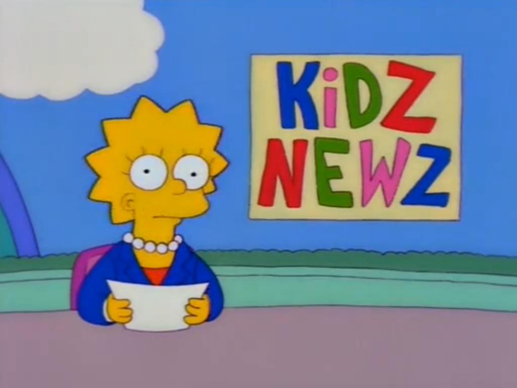 Lisa on Kidz News (Girly Edition).png